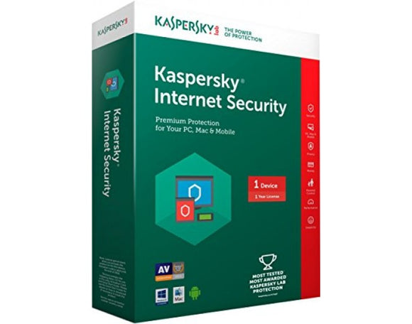 KASPERSKY INTERNET SECURITY 1 USER - BROOT COMPUSOFT LLP