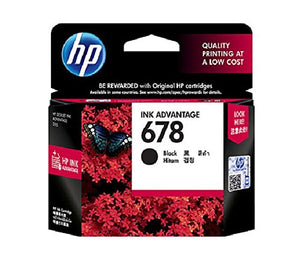 Ink Cartridge 678 Black - BROOT COMPUSOFT LLP