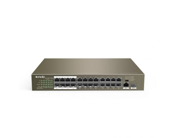 TENDA 24 PORT POE 1126P 24 + 1 GIGA + 1 SFP - BROOT COMPUSOFT LLP