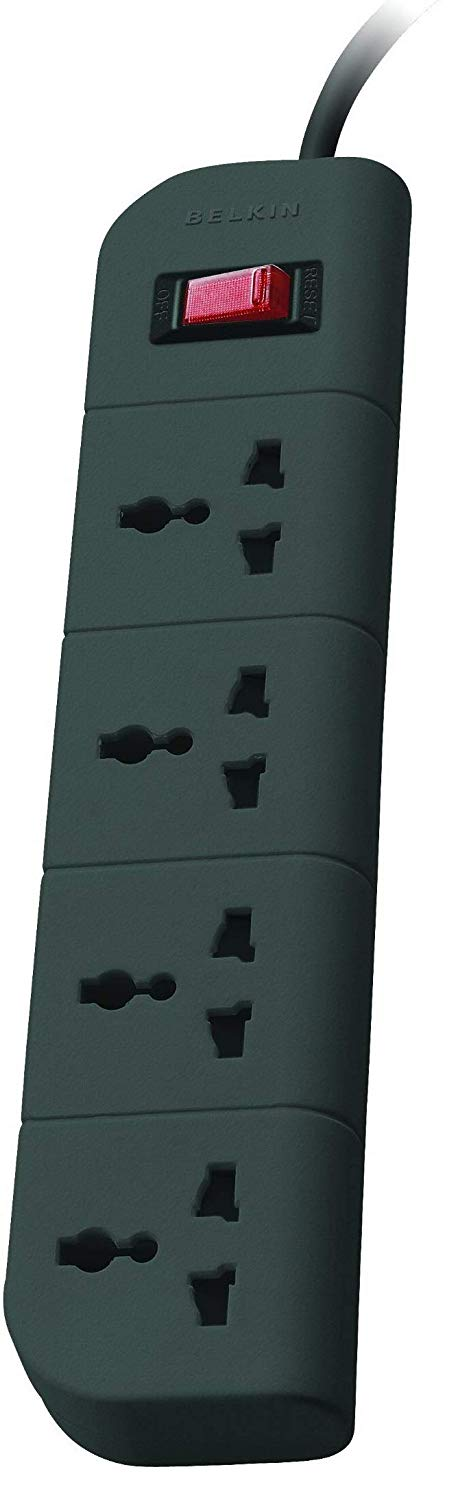 Belkin Extension Surge Protector 4 Socket - BROOT COMPUSOFT LLP