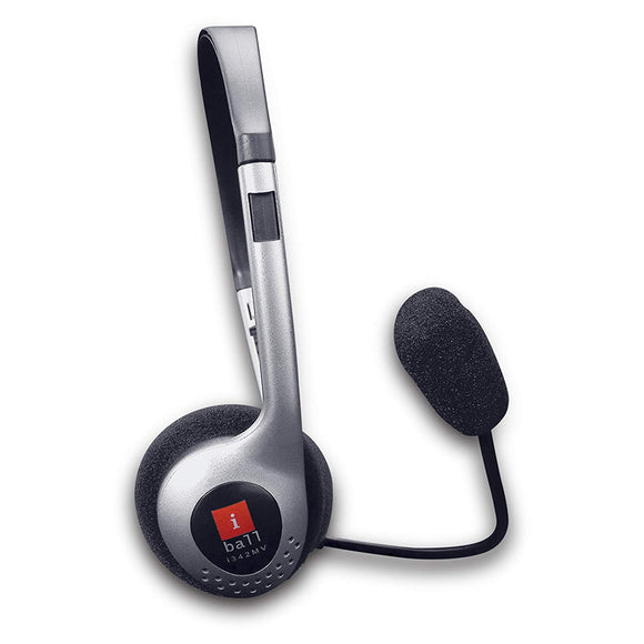 Iball Headphone with Mic I342Mv - BROOT COMPUSOFT LLP