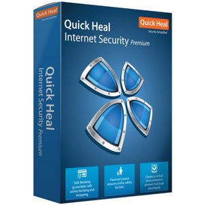 QUICK HEAL INTERNET SECURITY 2 USER 1 YEAR IR2 - BROOT COMPUSOFT LLP