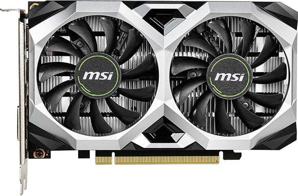 MSI GTX 1650 4GB DDR5 OC EDITION VENTUS XS GRAPHIC CARD - BROOT COMPUSOFT LLP