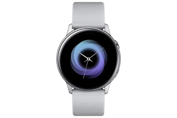 Samsung Galaxy Smart Watch Active R500 Silver - BROOT COMPUSOFT LLP