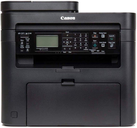 Canon MF244DW Digital Multifunction Laser Printer  All-in-One (Print, Copy, Scan) with duplex, auto document feeder and wireless connection - BROOT COMPUSOFT LLP