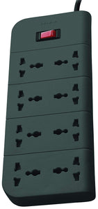 BELKIN EXTENSION SURGE PROTECTOR 8 SOCKET - BROOT COMPUSOFT LLP