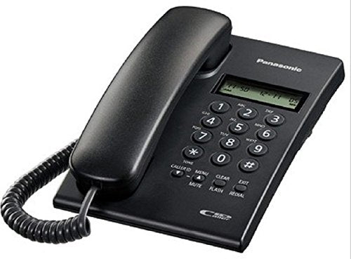 Panasonic Corded Phone with Caller ID KX-TSC60SXB - BROOT COMPUSOFT LLP