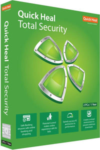 QUICK HEAL TOTAL SECURITY 10 USER 1 YEAR TS10 - BROOT COMPUSOFT LLP