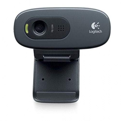 LOGITECH WEBCAM C270 Plug and play HD 720p video calling - BROOT COMPUSOFT LLP