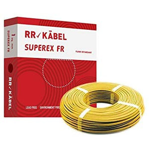 RR KABEL SUPEREX 0.75SQMM WIRE 90MTR CABLE - BROOT COMPUSOFT LLP