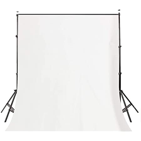 Photography Background Cloth for Photoshoot Portrait Video Shooting Screen Cloth (8x12 ft) (White)