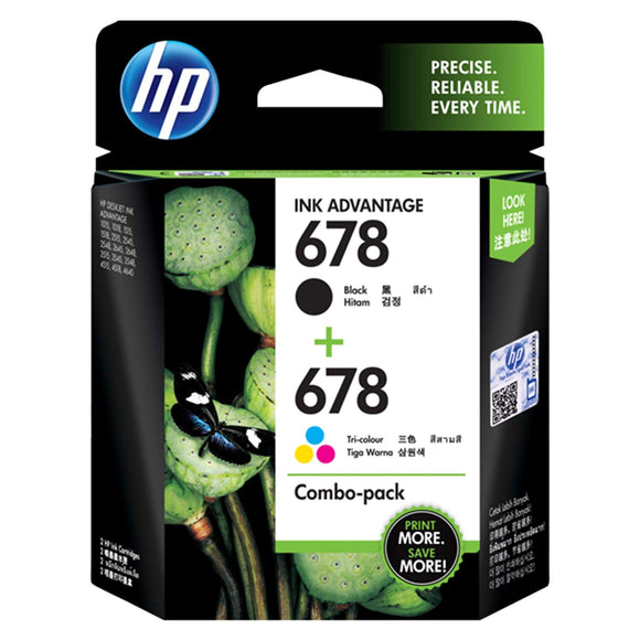 HP INKCARTRIDGES 678 COMBO - BROOT COMPUSOFT LLP