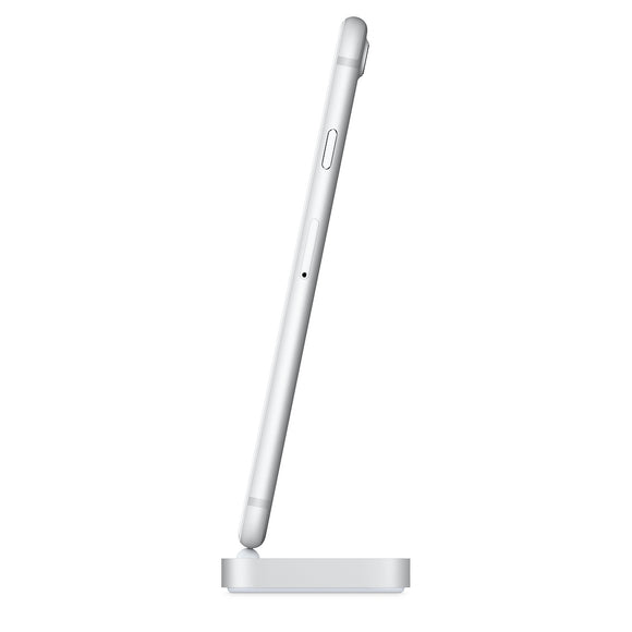 Apple iPhone Lightning Dock - Silver  ML8J2ZM/A