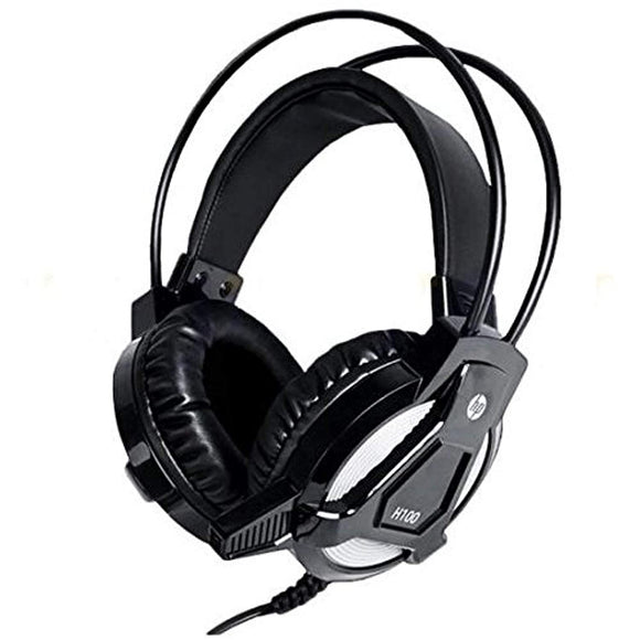 HP Wired Gaming Headphone With Mic  H100