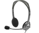 Logitech Wired Headphone H110 - BROOT COMPUSOFT LLP