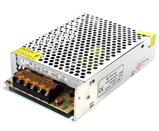 SECUREYE POWER SUPPLY 4CH STEEL   S-5B