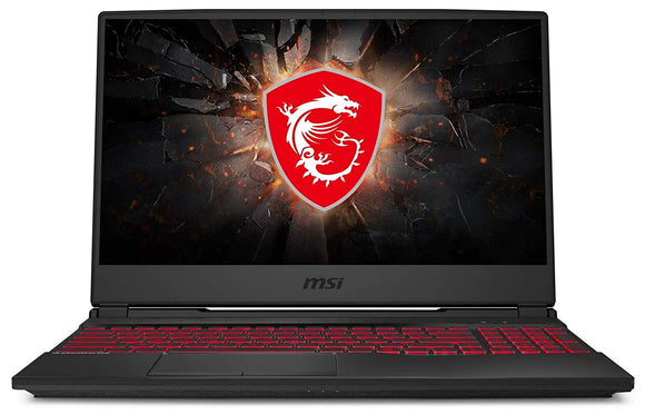 MSI GAMING LAPTOP GL65 9SDK   9TH GEN I7 PROCESSOR/16GB RAM/1TB HDD/256GB SSD/WIN10/6GB NVIDIA GEFORCE GTX 1660TI GRAPHICS/15.6 FULL FHD SCREEN/BLACK/7.54KG - BROOT COMPUSOFT LLP