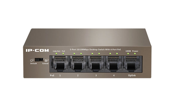 IP Com Poe Switch 5 Port  F1105P-4-63W