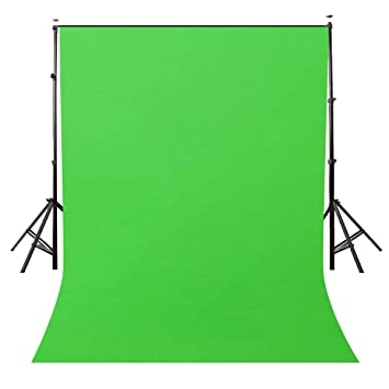 Photography Background Cloth for Photoshoot Portrait Video Shooting Screen Cloth (8x12 ft) (Green)