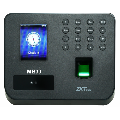 Secuzaa MB30 Face Based Attendance Machine