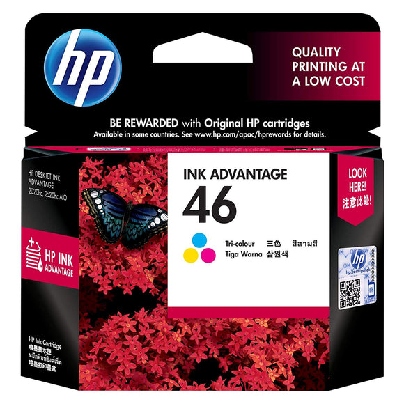 Ink Cartridge 46 Color - BROOT COMPUSOFT LLP