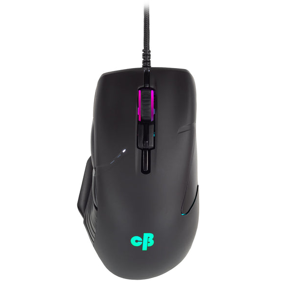 Cosmic Byte Equinox Beta Wired Gaming Mouse, Pixart PAW3327 Sensor, Spectra RGB Lighting with Software - BROOT COMPUSOFT LLP