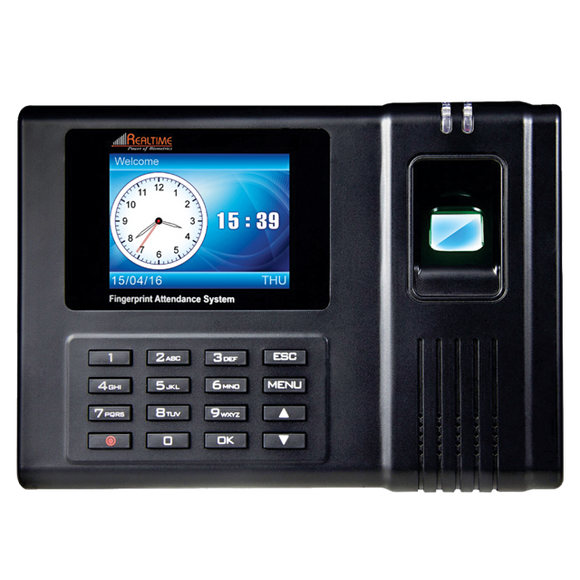 Realtime RS-10 Time & Attendance, Access Control