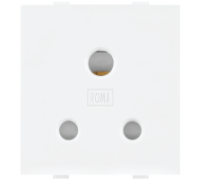 WHITE ANCHOR 6A, 2 IN 1 SOCKET, 2MODULE - BROOT COMPUSOFT LLP