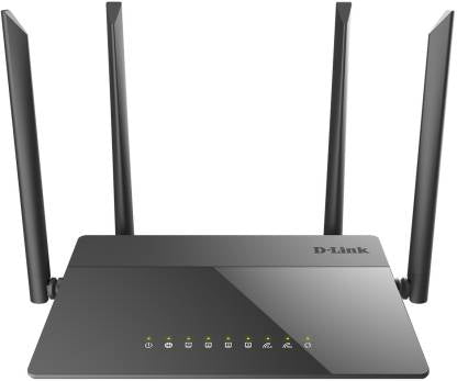 Dlink DIR-841 AC1200  Dual Band Wireless Gigabit Router With Fast Ethernet Lan Ports - BROOT COMPUSOFT LLP