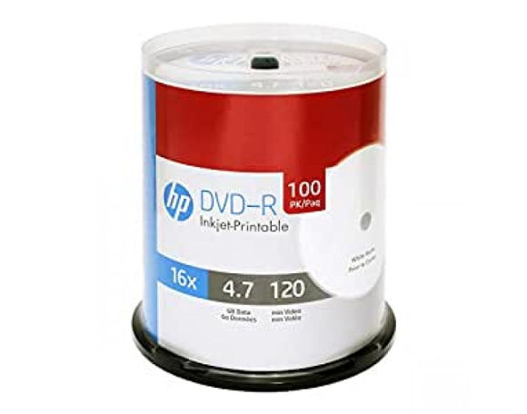 HP DVD-R WHITE PACK OF 100 16X