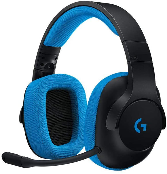 Logitech G233 Wired Gaming Headphone for PC, PS4, PS4 PRO, Xbox One, Xbox One S, Nintendo Switch - BROOT COMPUSOFT LLP