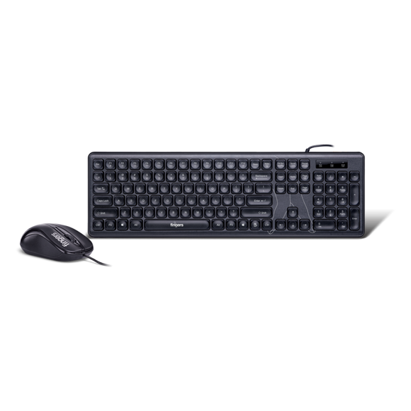 Fingers Wired Keyboard and Mouse Combo Velvet C4 - BROOT COMPUSOFT LLP