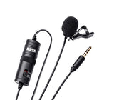 BOYA BY-M1 Omnidirectional Lavalier Condenser Microphone with 20ft Audio Cable - BROOT COMPUSOFT LLP