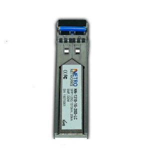 Single Mode Dual Fiber 1.25Gbps SFP NN-1310-1G-20D-LC