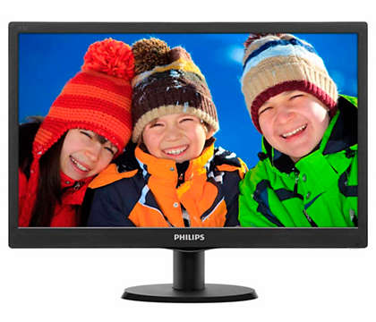 PHILIPS LED Monitor  18.5 Inch 193V5LHSB2