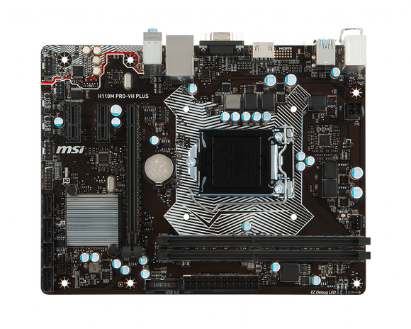 Msi Motherboard    H110M-PRO-VH-PLUS