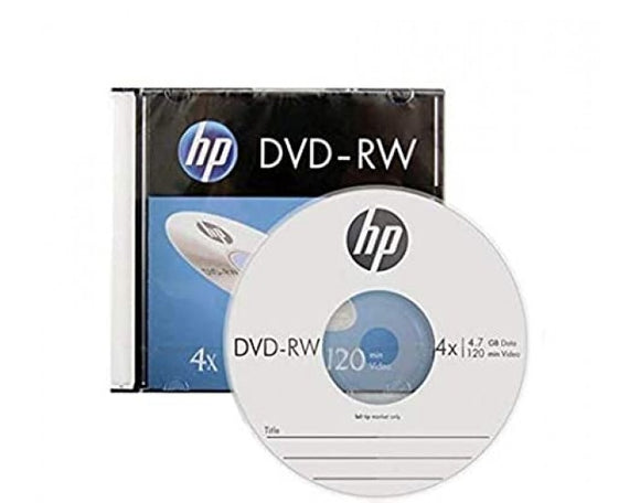 HP DVD-RW PACK OF 10 4X
