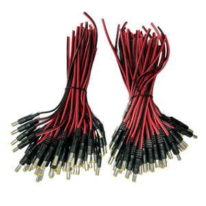 Wire DC Red/Black (100 pcs)