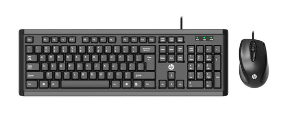 Hp Wired Keyboard And Mouse Combo POWERPACK   YSG54PA