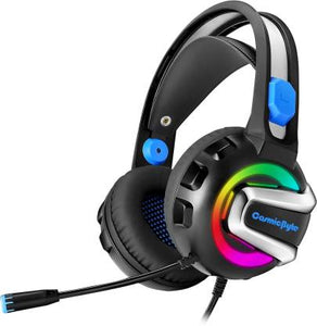 Cosmic Byte Wired  Gaming Headphone With Mic  7 RGB Color Colors    G3300