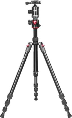 Digitek DTR 520 BH (60 Inch) Professional Aluminum Tripod Cum Monopod with Swivel Pan Head, for DSLR Camera  Maximum Operating Height: 4.95 Feet    Black DTR 520 BH