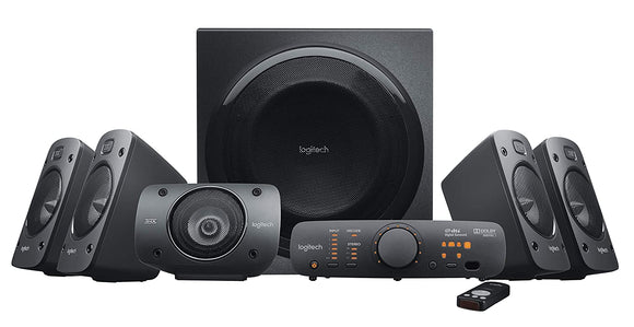 Logitech Z906 5.1 Surround Sound Speaker System - BROOT COMPUSOFT LLP
