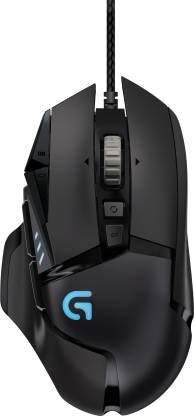 Logitech Wired Gaming Mouse Hero G502 - BROOT COMPUSOFT LLP