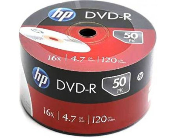 HP DVD-R PACK OF 50