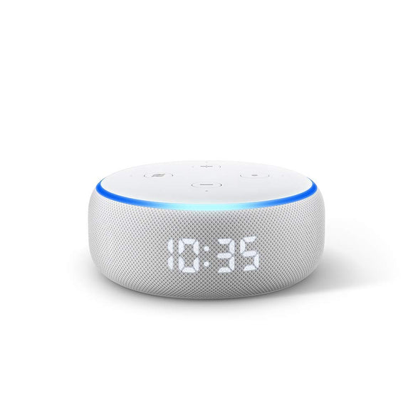 Amazon Echo Dot 3rd Gen with clock - Smart speaker with Alexa and LED display