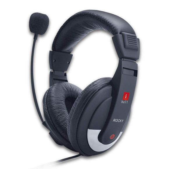 iBall  Wired Headphone With Mic ROCKY