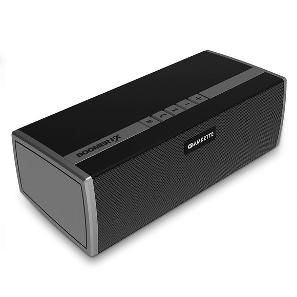 Amkette Trubeats Boomerfx Wireless Bluetooth Speakers with Superboom Bass Radiator & 16 Hrs of Marathon Music Time - BROOT COMPUSOFT LLP