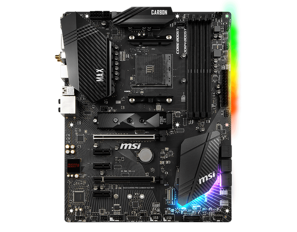 Msi Motherboard    B450 GAMING PRO CARBON MAX WIFI