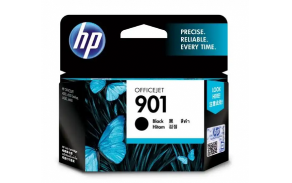 Hp Ink Cartridge Black Office Jet 901  CF653AA