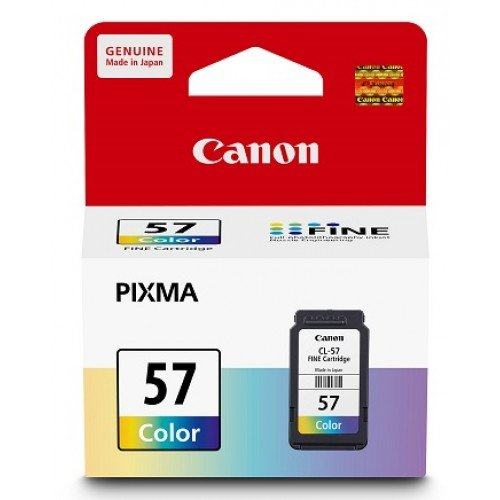 Canon Ink Cartridge TriColor CL-57 - BROOT COMPUSOFT LLP